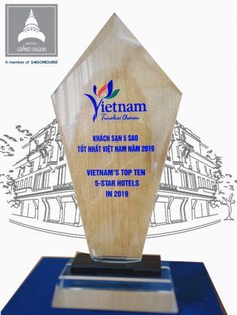 Hotel Grand Saigon - Awards & Accolades Saigon Hotel - Hotel